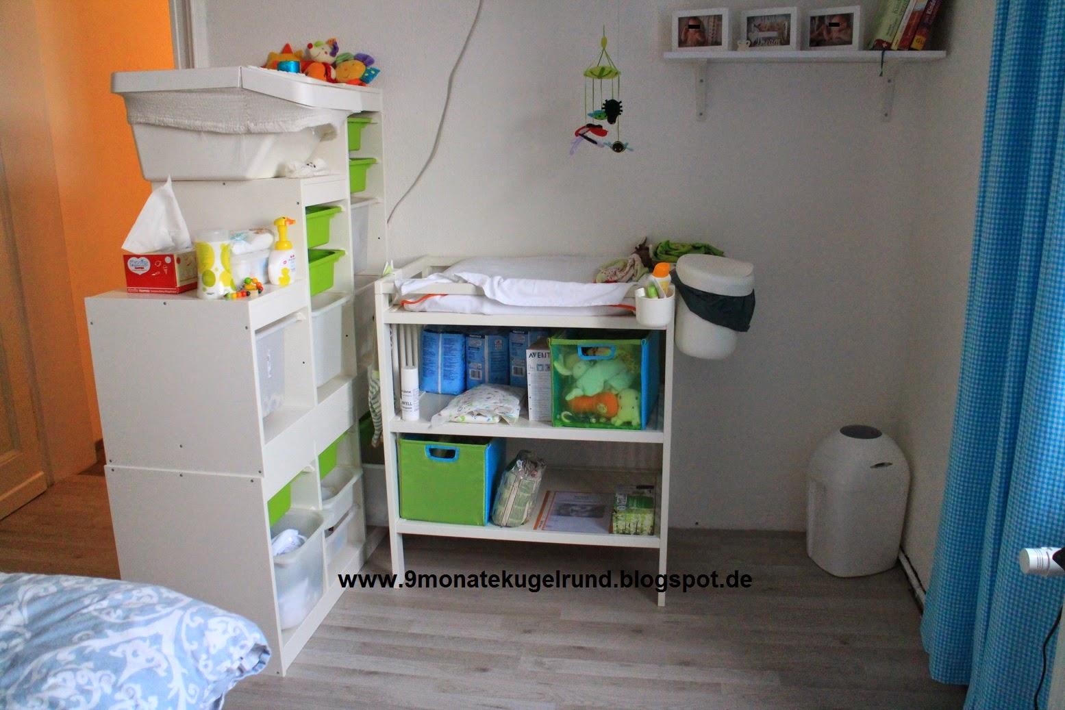 wickeltisch einrichten wickelstation. Black Bedroom Furniture Sets. Home Design Ideas